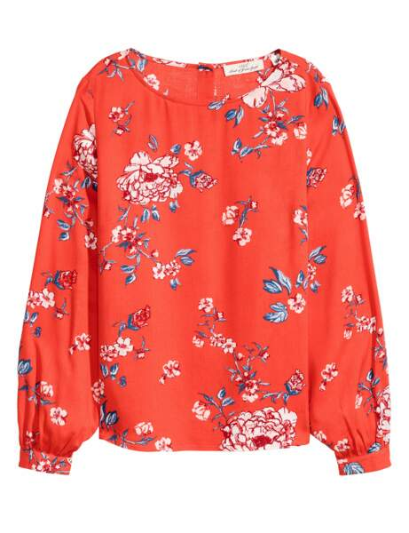 Top 10 dressing : la blouse fleurie