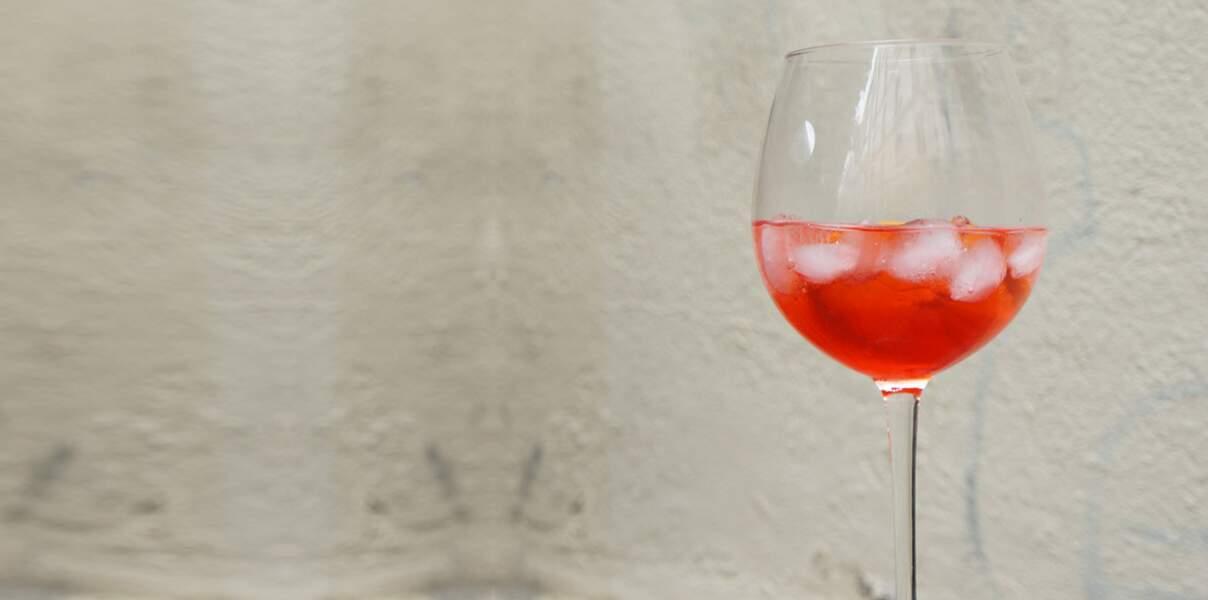 Menu en amoureux - Un spritz, comme en Italie
