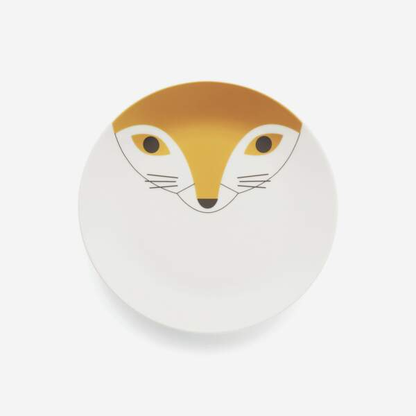 Assiette renard