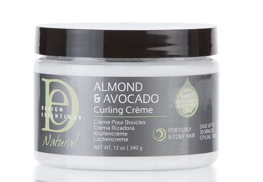 Crème pour Boucles Almond & Avocado de Design Essentials