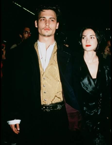 Johnny Depp pour Winona Ryder
