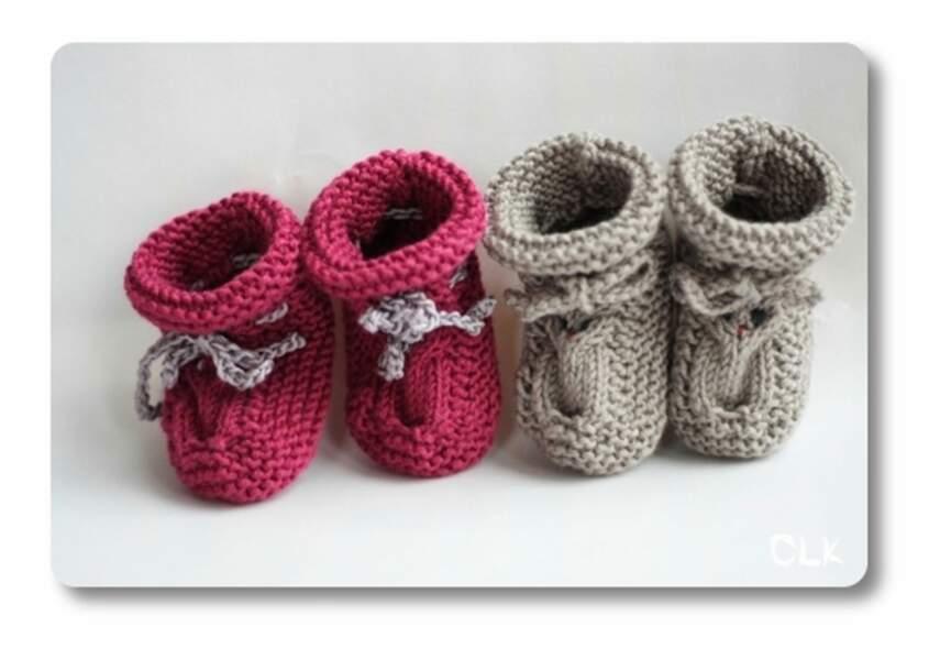 Des petits chaussons hibou