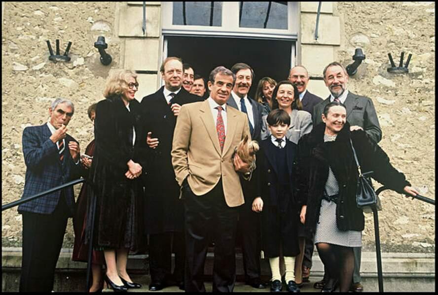 Les copains d'abord au mariage de Jean Rochefort