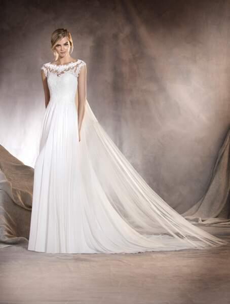 Robe de mariée Pronovias : Alba