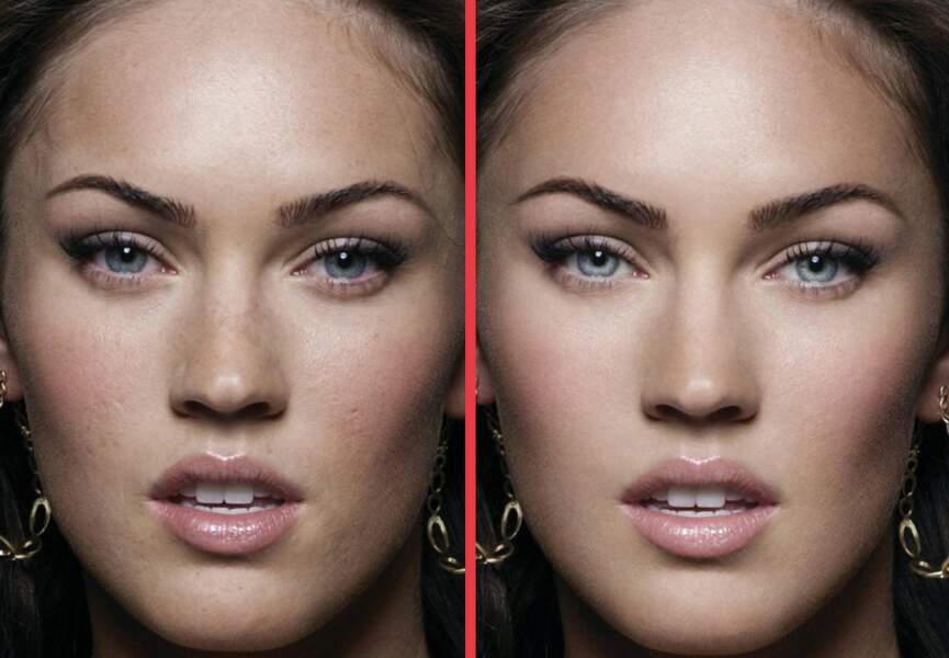 Megan Fox n'avait pas les yeux assez clairs apparemment...