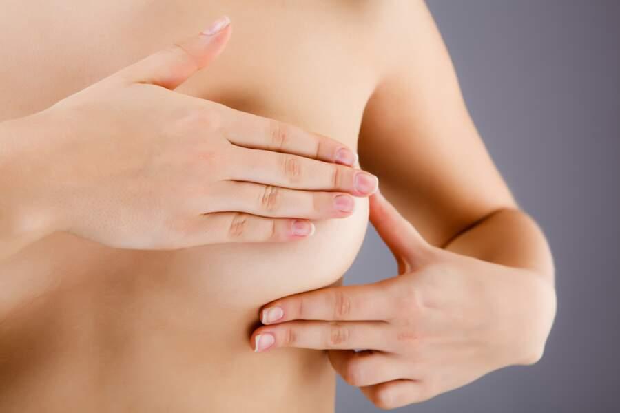 Examiner ses seins : une fois par mois