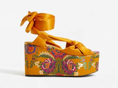 chaussures compensées tendance printemps été