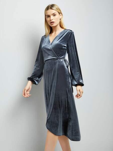 Tenue de soirée : la robe en velours