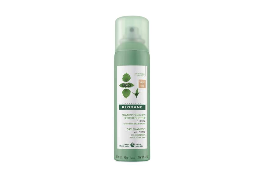 Le shampooing sec pour cheveux gras Klorane