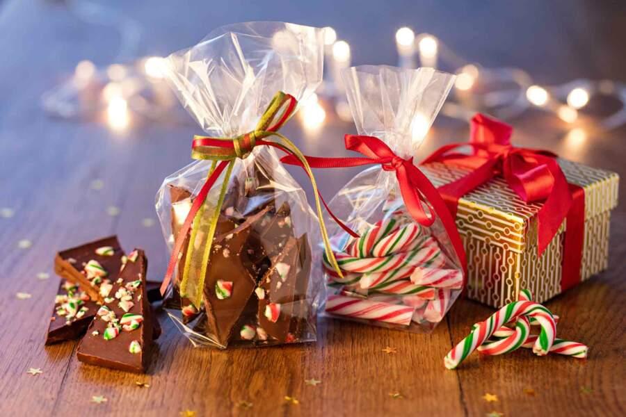 Chocolats au sucre d'orge