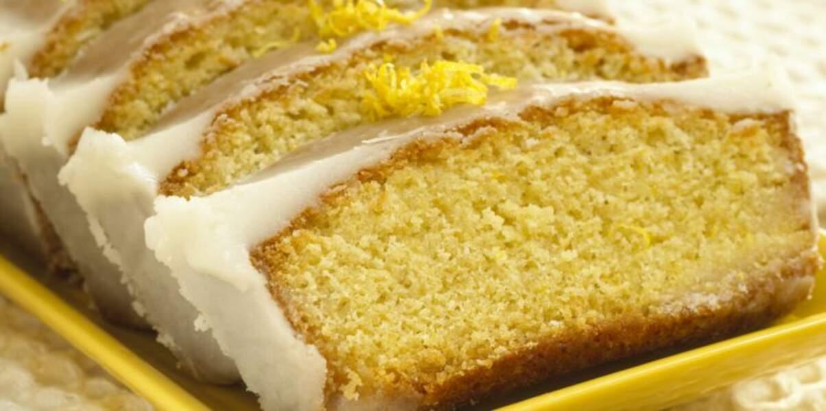 Gâteau sans œufs et sans beurre au citron