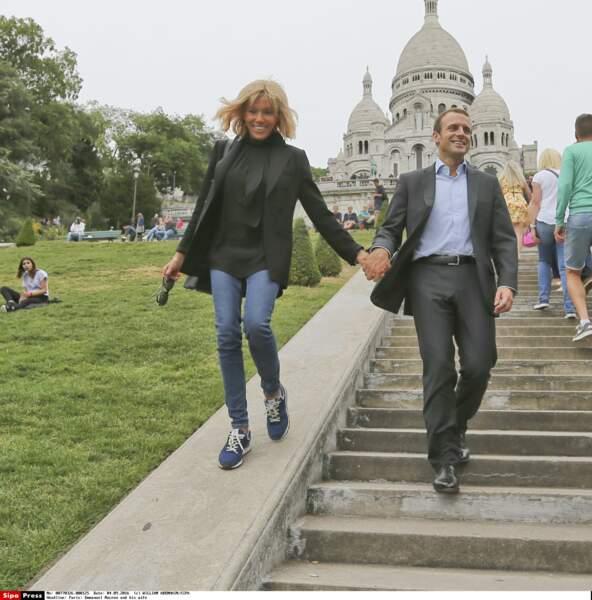 Emmanuel et Brigitte Macron - Septembre 2016