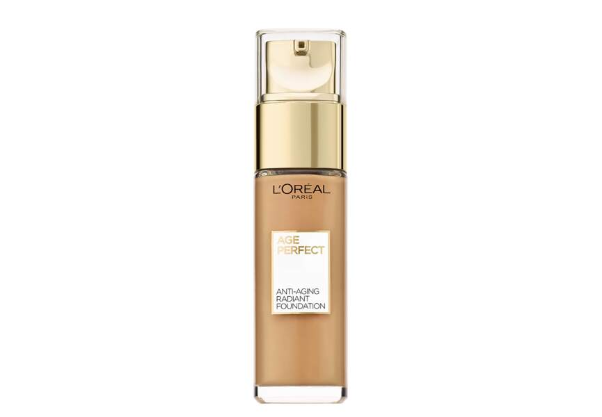 A 50 ans : Age Perfect Anti-Aging radiant foundation de L'Oréal Paris