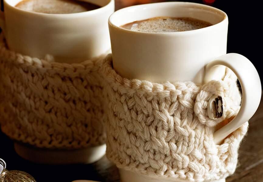 Une housse pour mug
