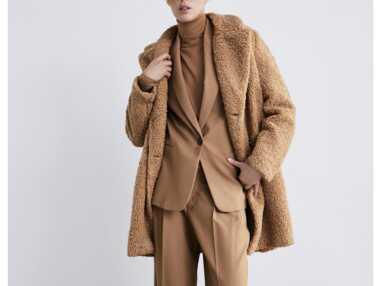 Manteaux fluffy : 12 pièces pour adopter la tendance doudou de la saison