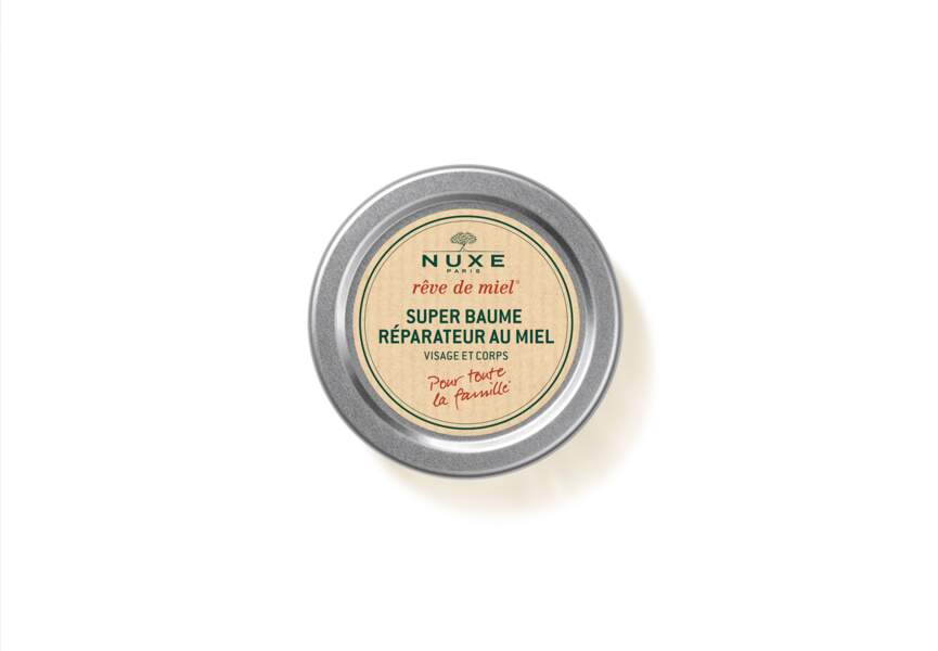 Le Super Baume Réparateur Rêve de miel Nuxe