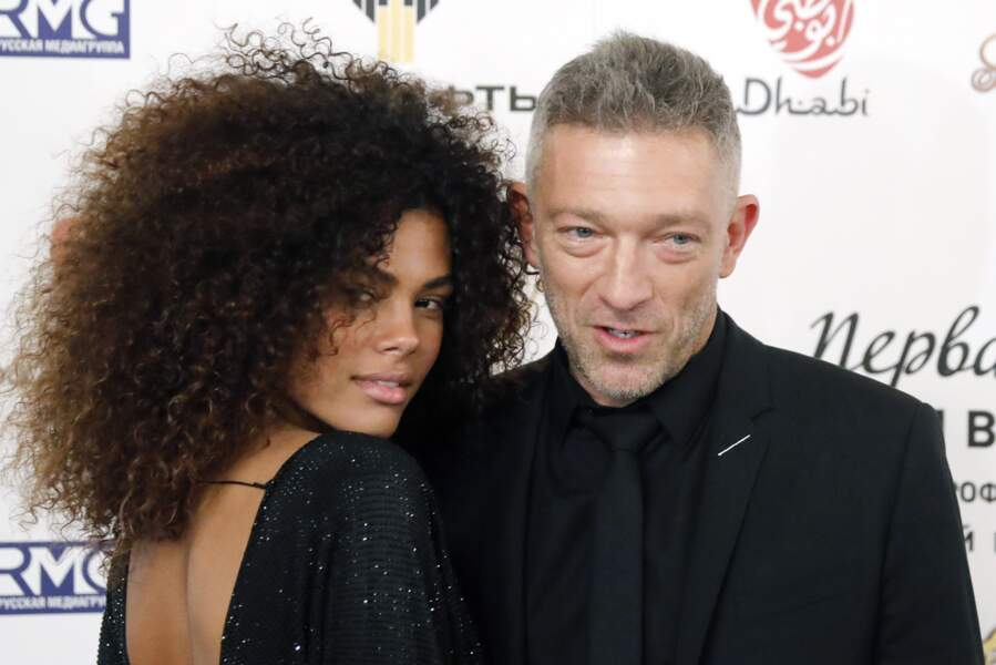 Vincent Cassel et Tina Kunakey : 2018