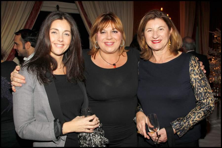 Michèle Bernier au Pré Catelan en compagnie de Cristiana Reali et de Zana Murat en 2010.