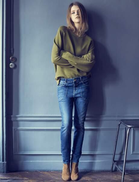 Le jean taille basse