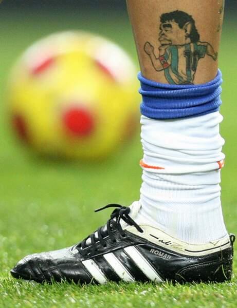 Ce joueur voue un véritable culte à la star argentine Diego Maradona