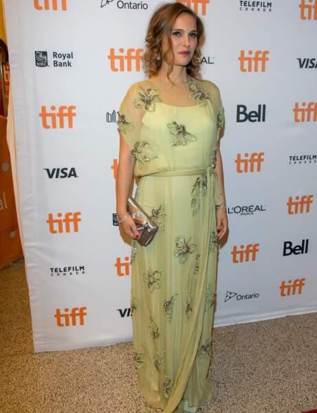 Natalie Portman : robe poétique