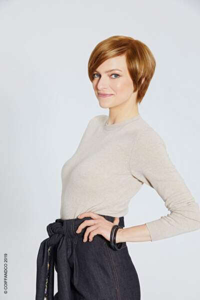La coupe pixie ultra lisse
