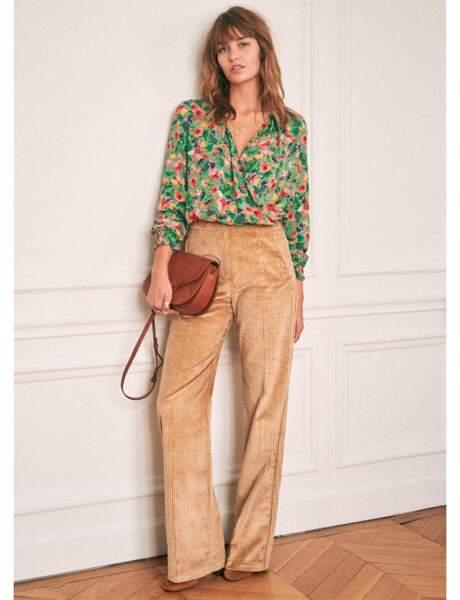 Pantalon : velours