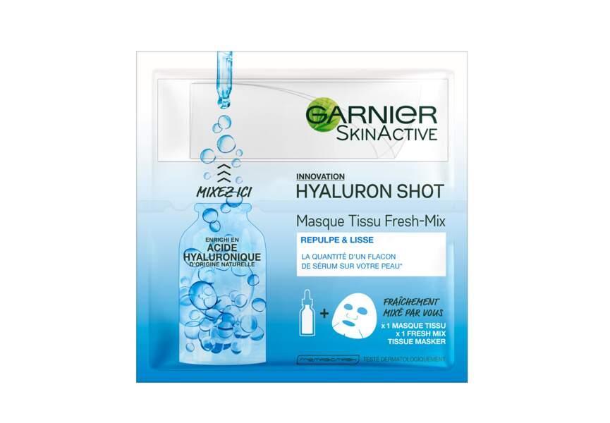 Masque tissu Acide hyaluronique Fresh mix Garnier