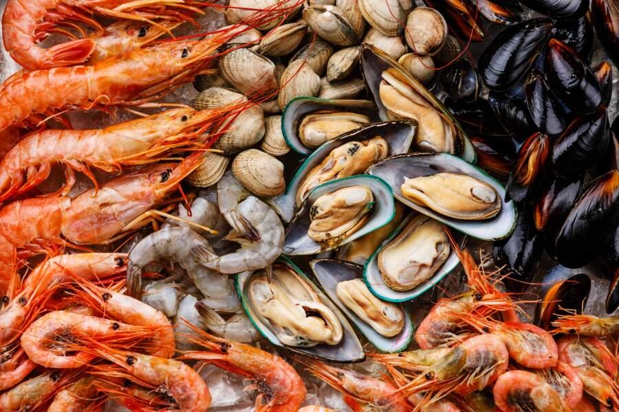 Coquillages et crustacés, de puissants anti-infectieux