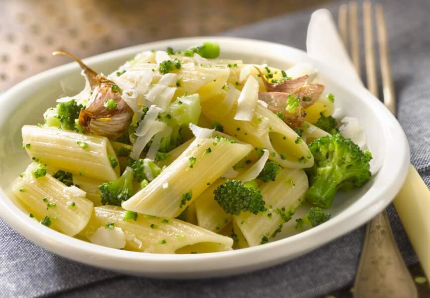 Pâtes au brocolis
