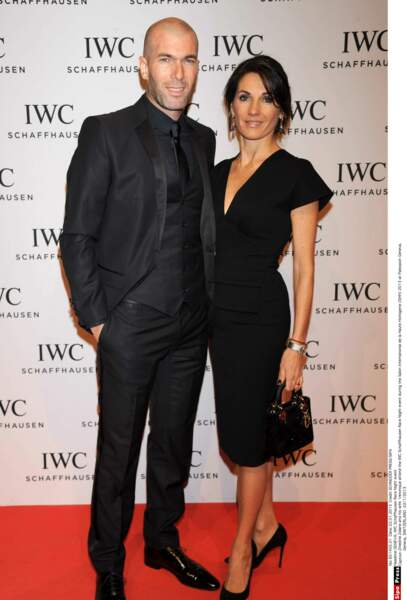 Zinédine Zidane et sa femme Véronique : 2013