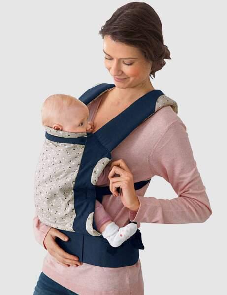 Le porte bébé physiologique, de Vertbaudet