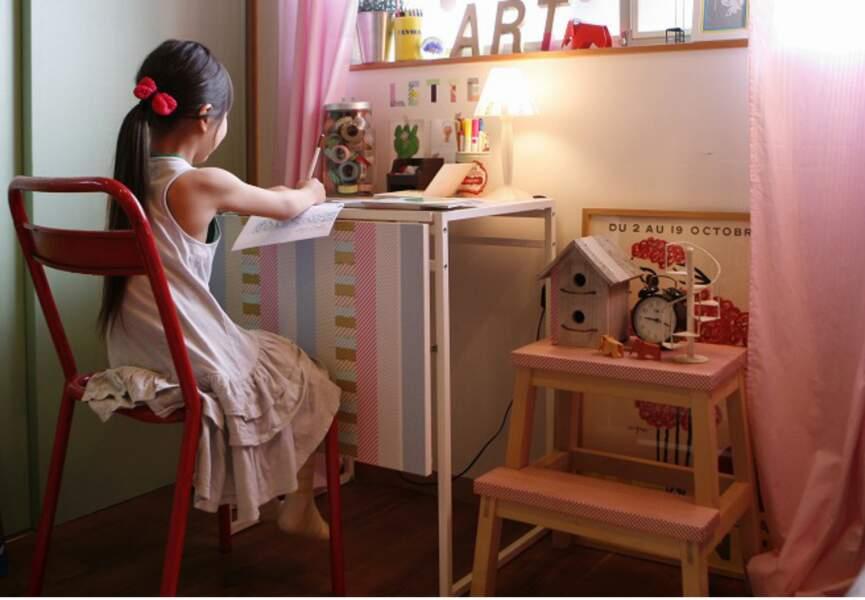 Une déco dans une chambre d'enfant