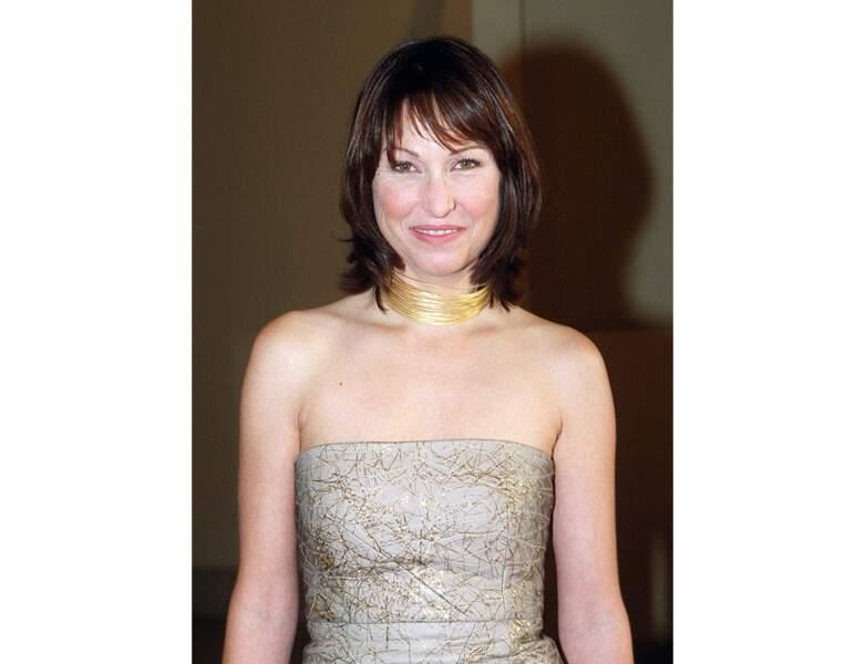Evelyne Thomas en 2000, elle a 36 ans