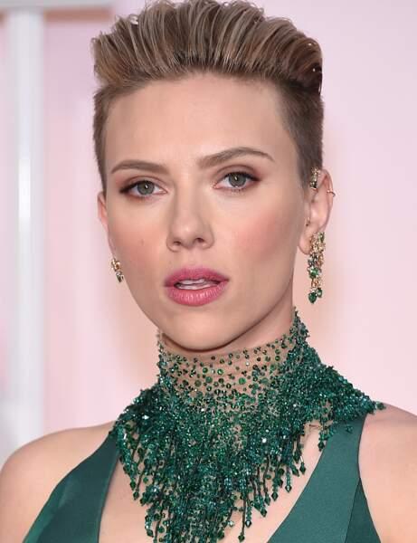 Scarlett Johansson a très peur de se retrouver face à un...