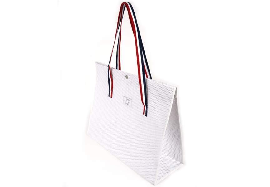 Bleu blanc rouge: le sac de plage