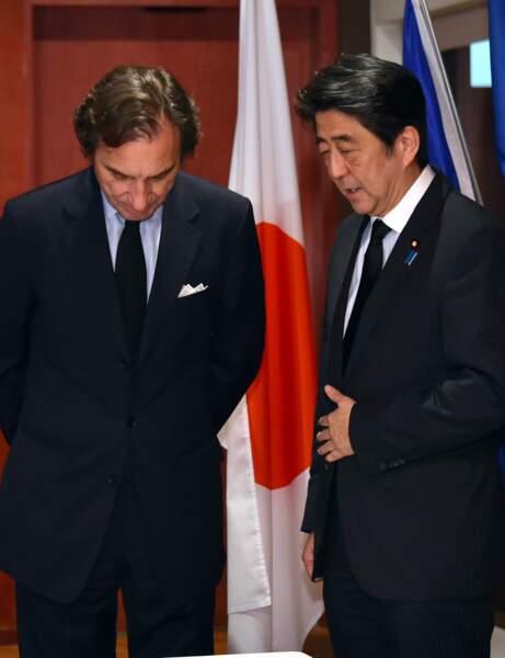 Shinzo Abe, Premier Ministre du Japon
