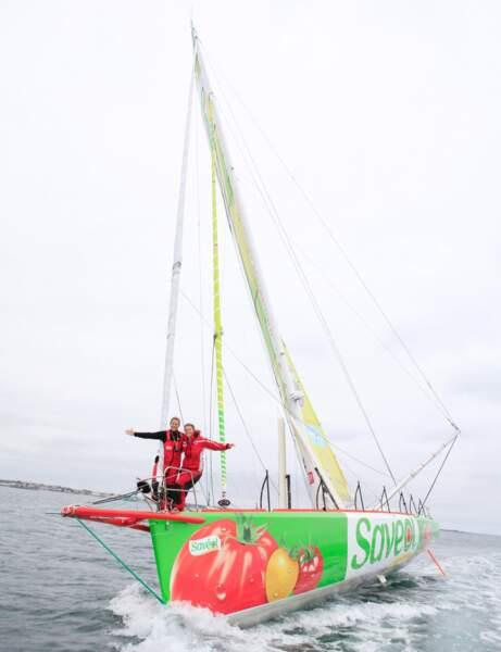 Sam Davies une femme libre comme l'air, en mer !