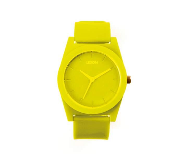 La montre acidulée