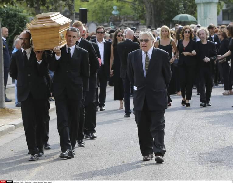 Obsèques de Sonia Rykiel, cimetière du Montparnasse