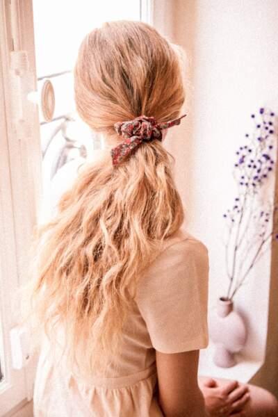 Le noeud à cheveux