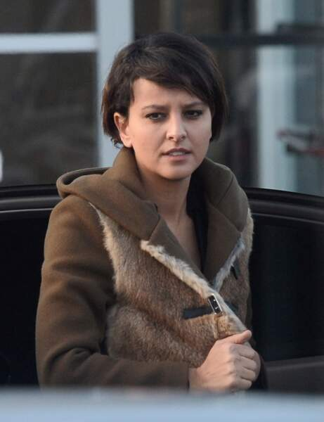 Najat Vallaud-Belkacem, ministre de l'Education