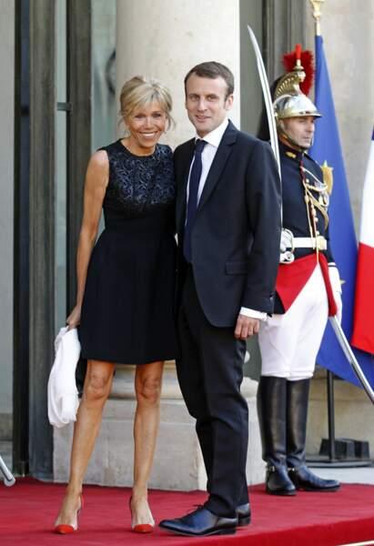 Emmanuel et Brigitte Macron - Juin 2015