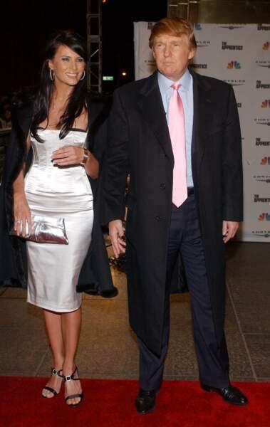 Et Melania Trump la portait comme un basique de son dressing