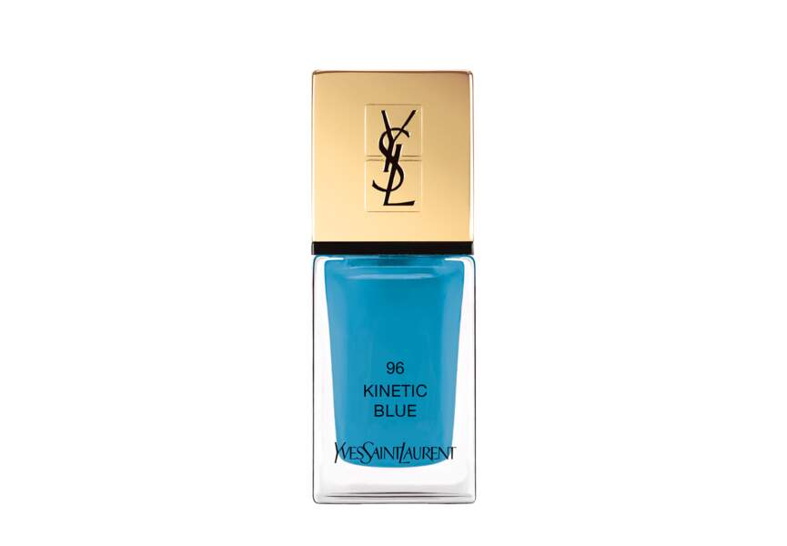 La Laque Couture Kinetic Blue Yves Saint Laurent