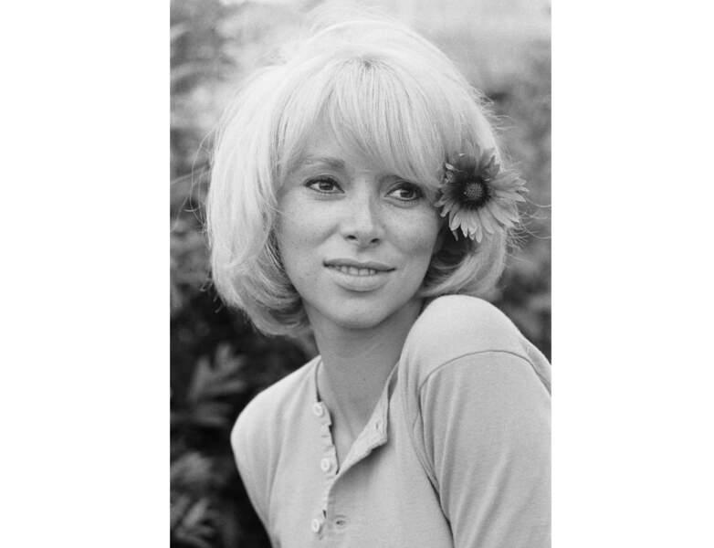 La jeune femme dans les années 60...