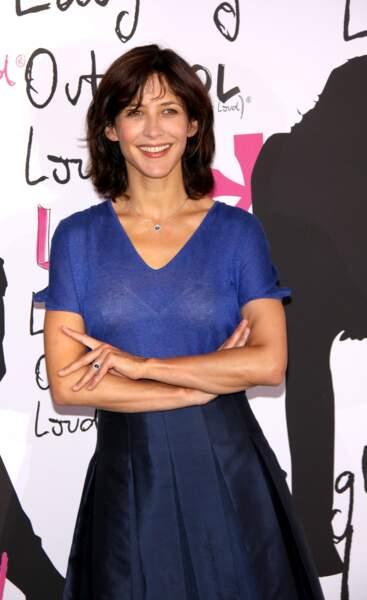 """Sophie Marceau à la première du film """"LOL"""" à Berlin en juillet 2009."""