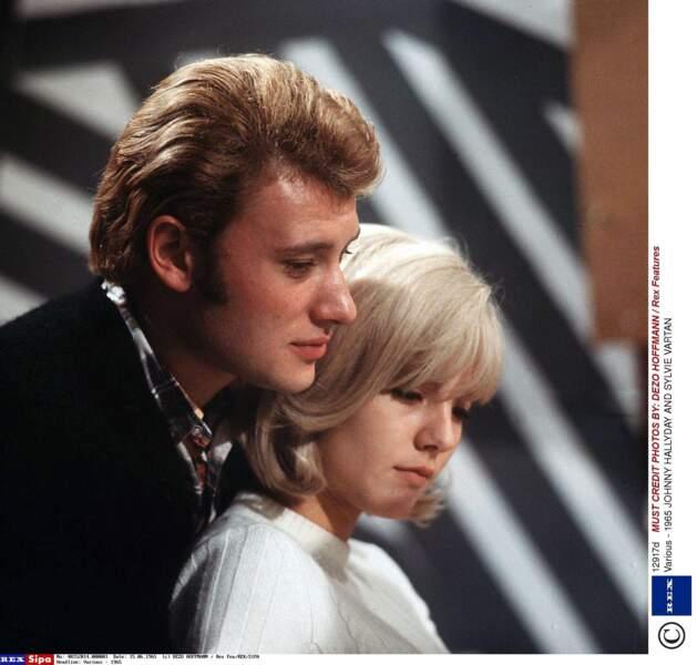 Avec Sylvie Vartan, un couple qui rocke
