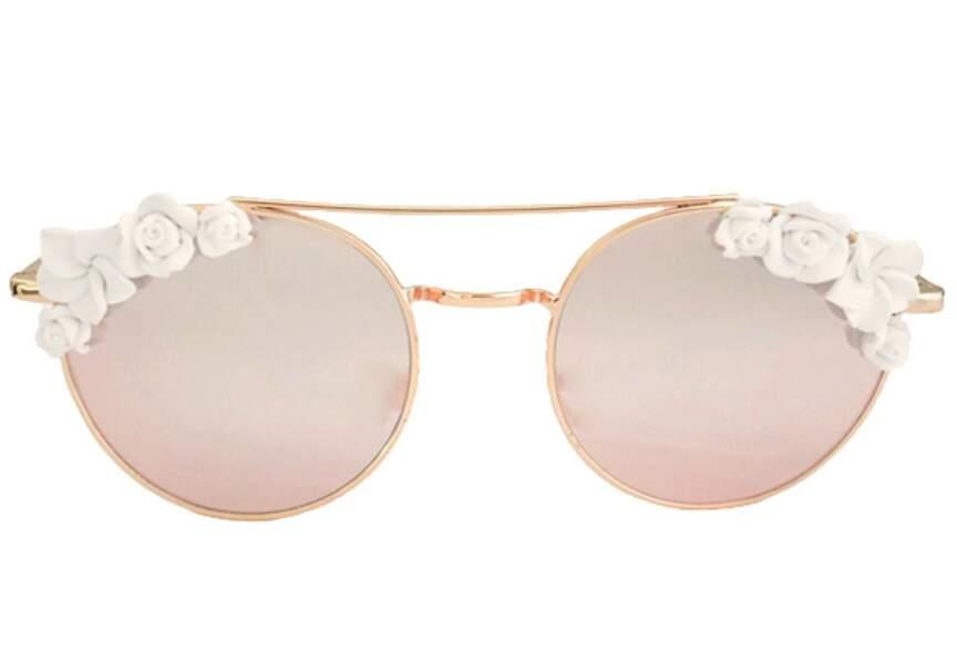 Accessoire tenue de mariage & cérémonie : lunettes à fleurs