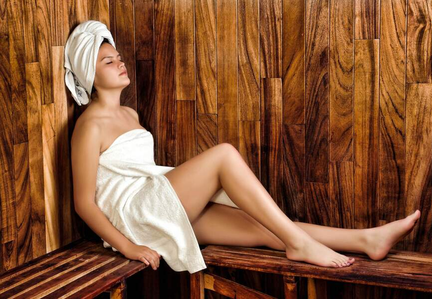 Se glisser dans un sauna